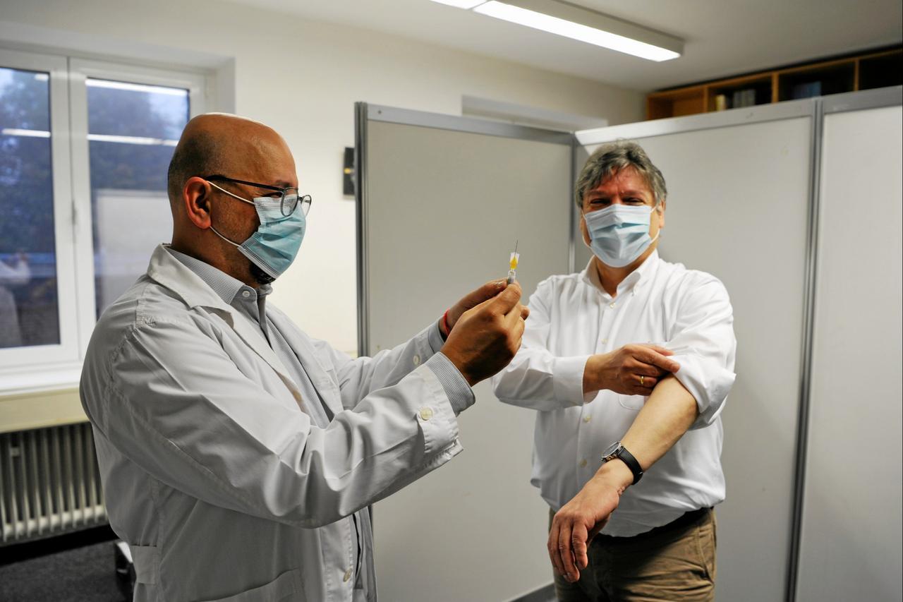 Grippeimpfung für TU-Beschäftigte