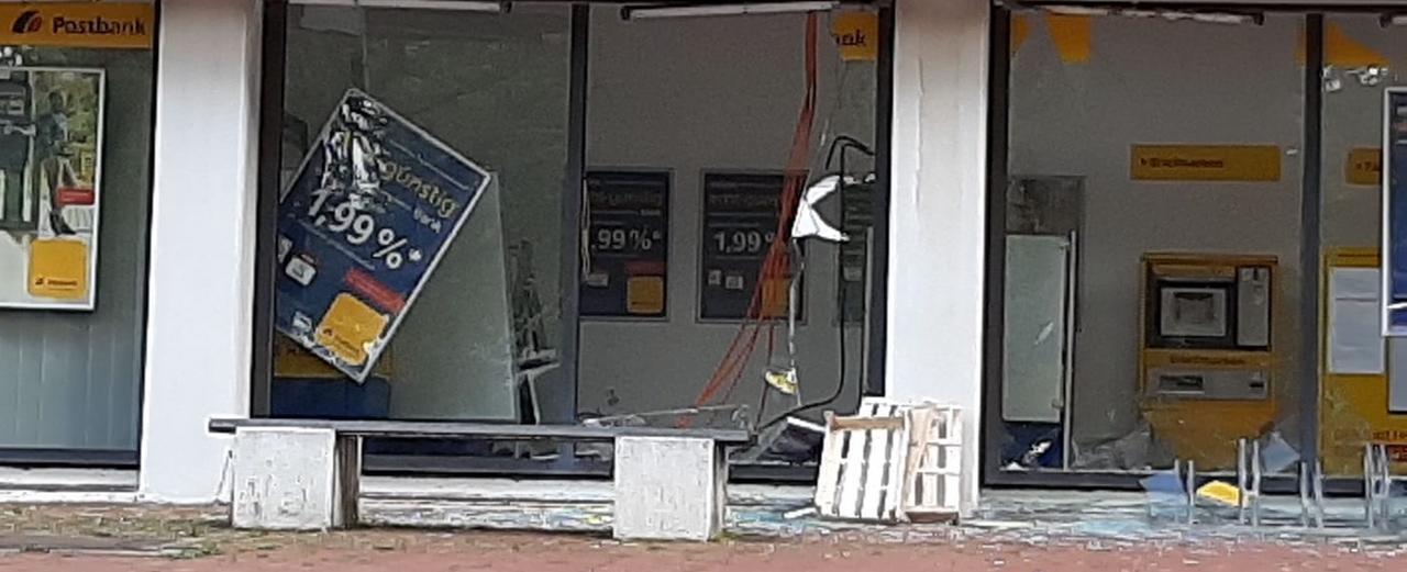Unbekannte sprengen erneut Geldautomaten