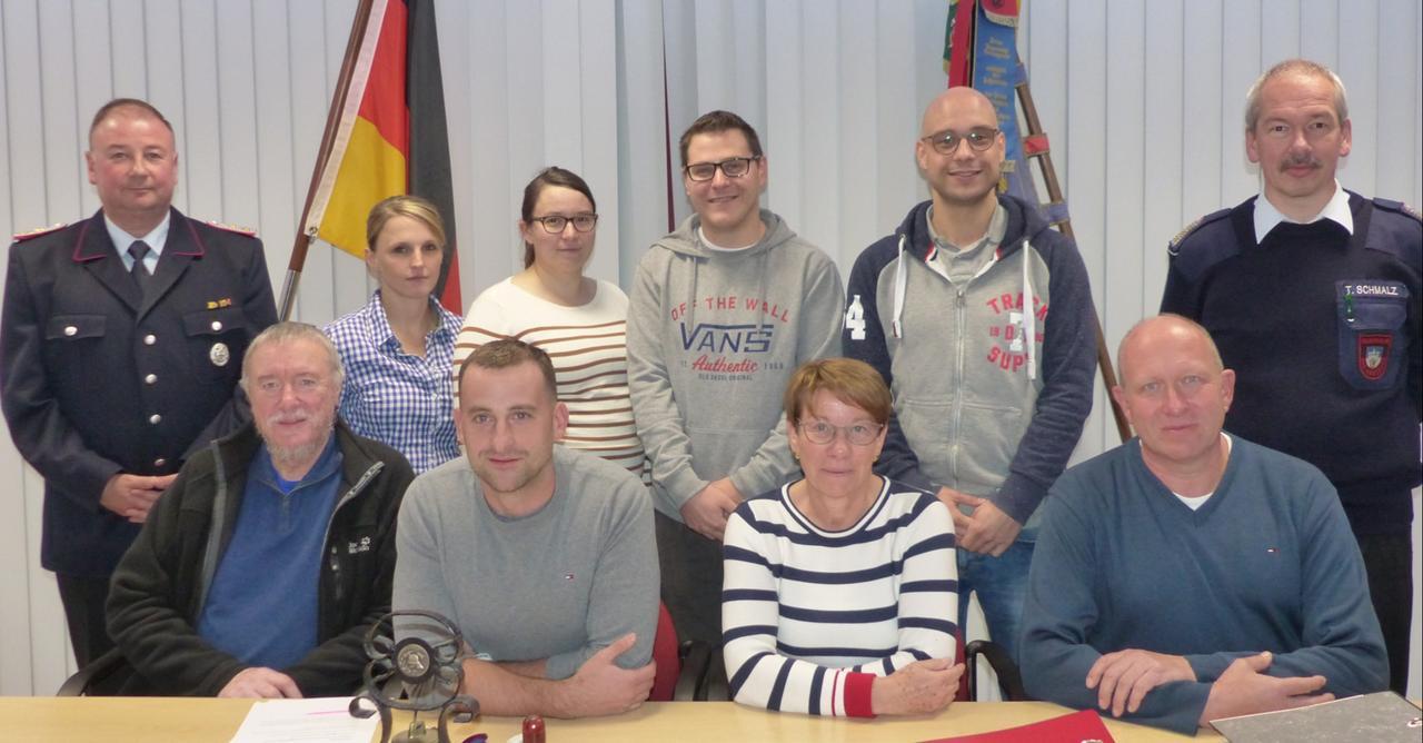 Feuerwehr-Förderverein mit neuem Vorstand
