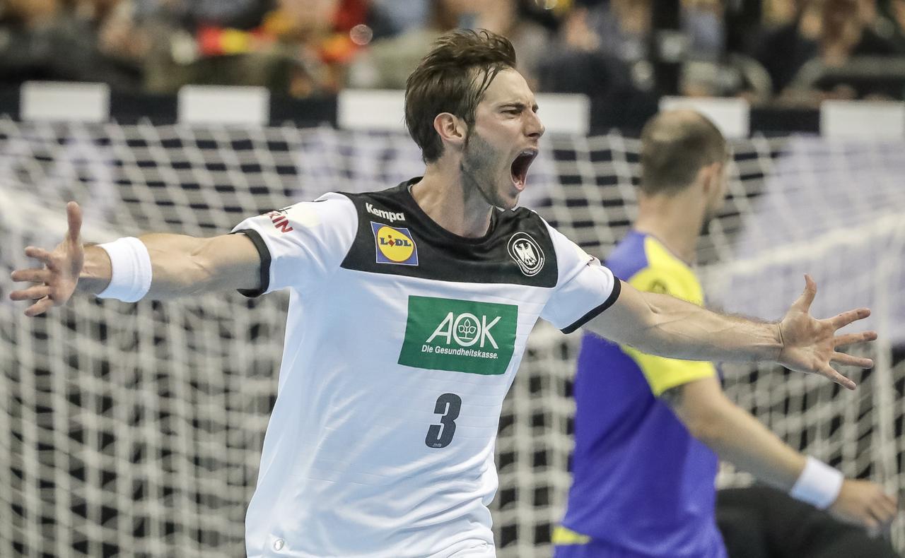 Deutsche Handballer bei WM auf Kurs