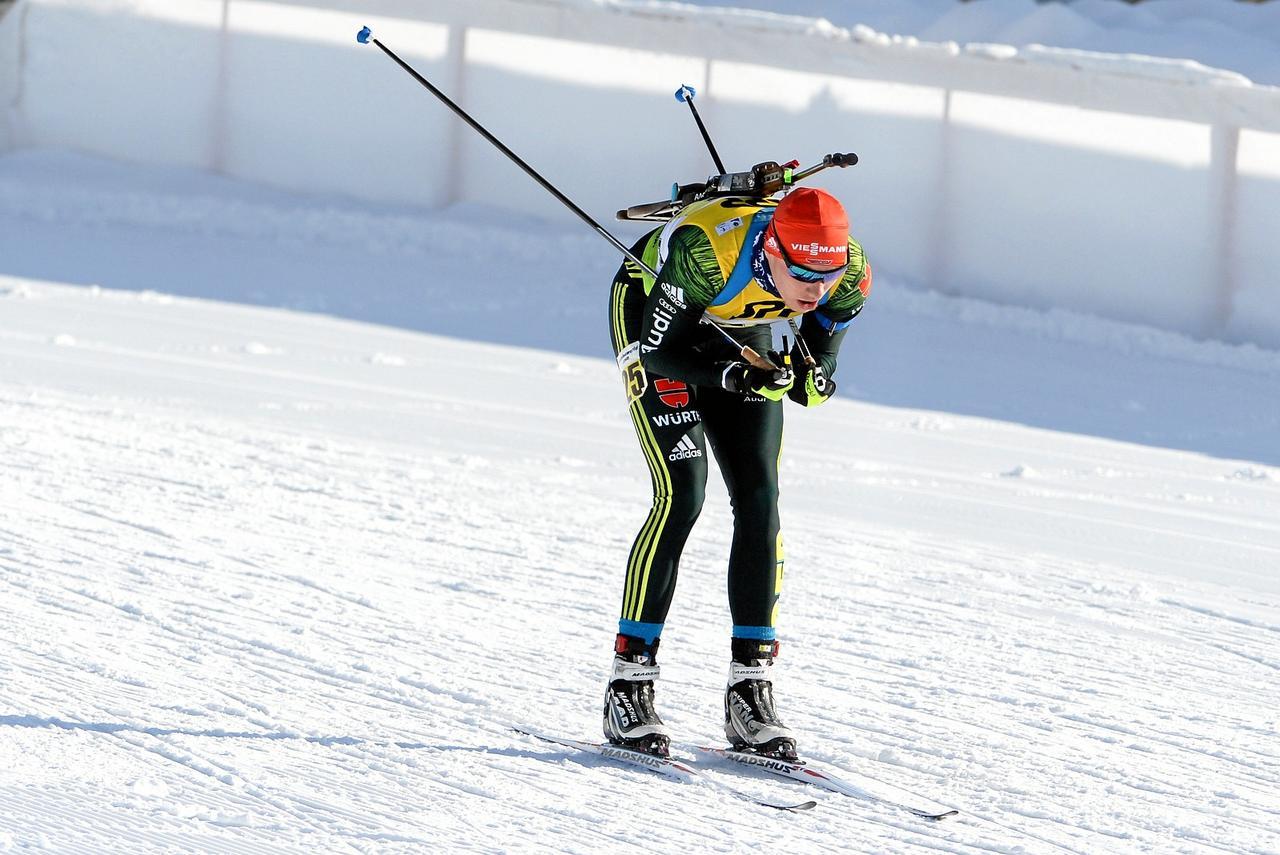 Biathlet Köllner läuft im Einzel zu Gold