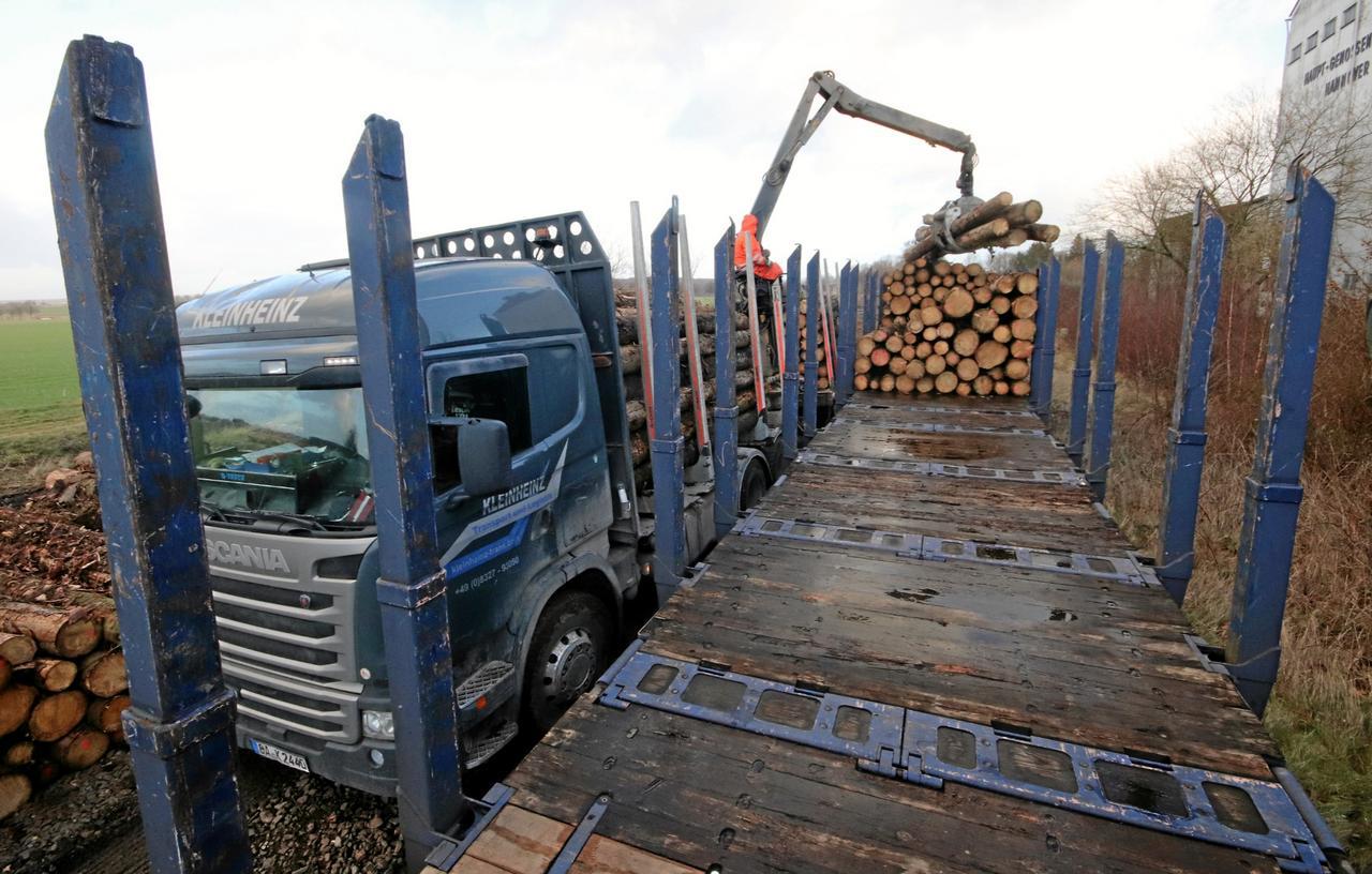 Wieder Güterzüge im Warnetal