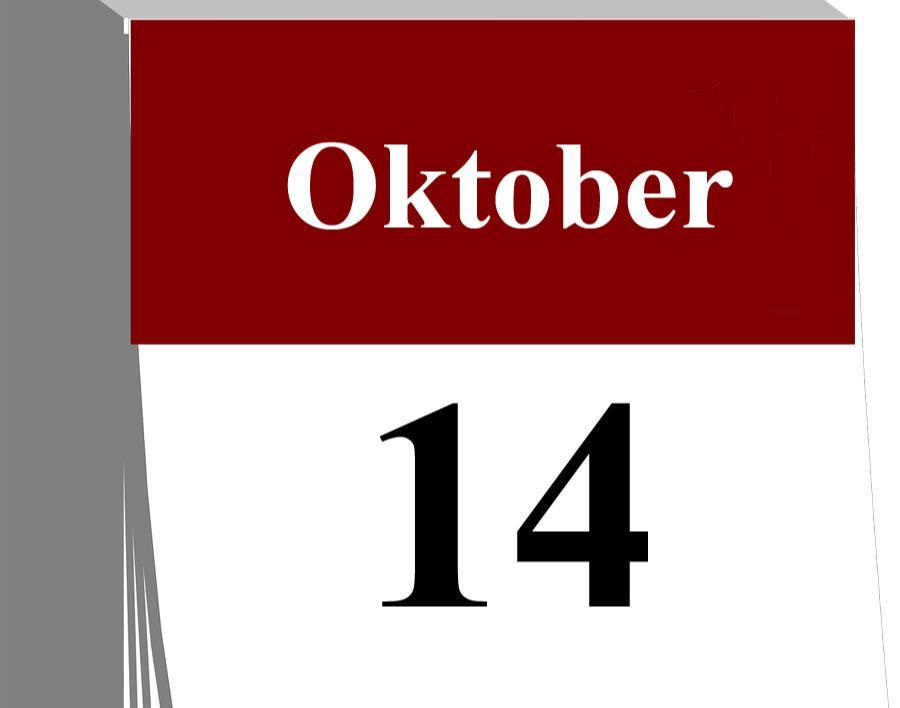 Der 14. Oktober