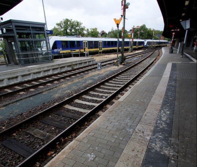 Taubenkot im Bahnhof