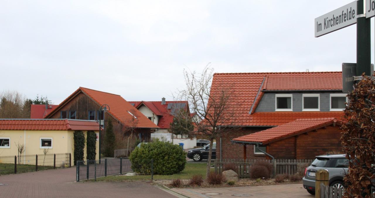 Dachziegel und Landhäuser