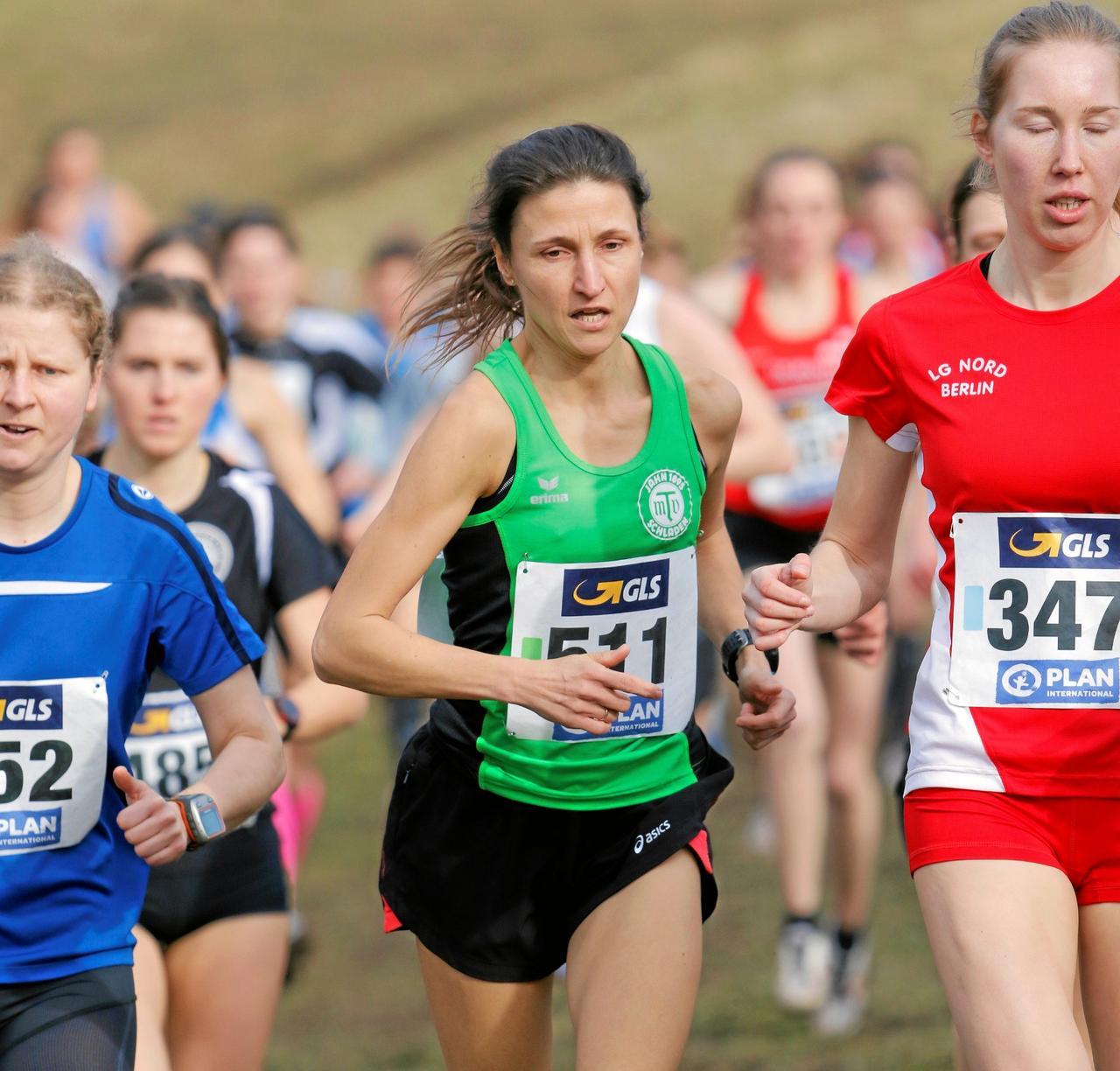 Miriam Paurat läuft zu Silber