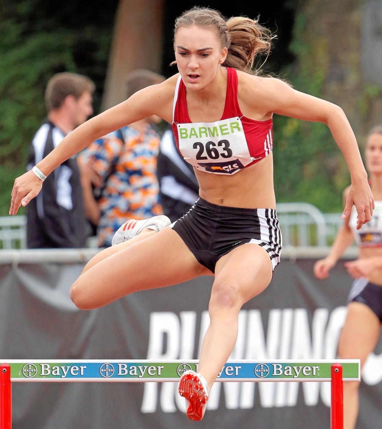 Lea Ahrens gewinnt Bronze bei deutscher Meisterschaft