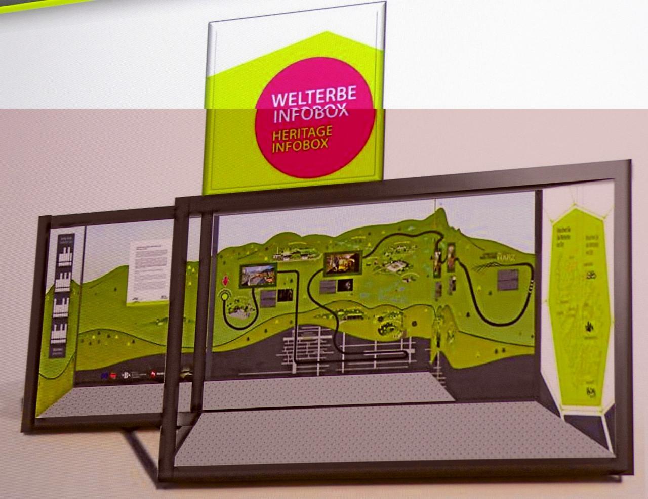Infozentrum stellt Goslarer Welterbe vor