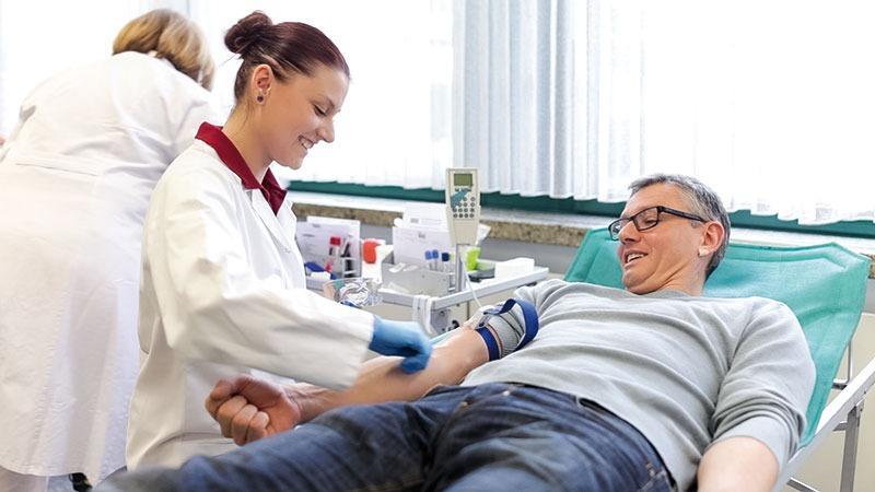 DRK lädt heute zum Blutspenden ein