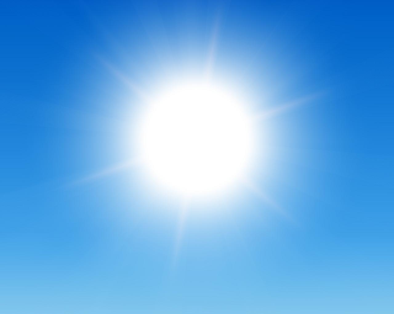 Sommerliche Temperaturen