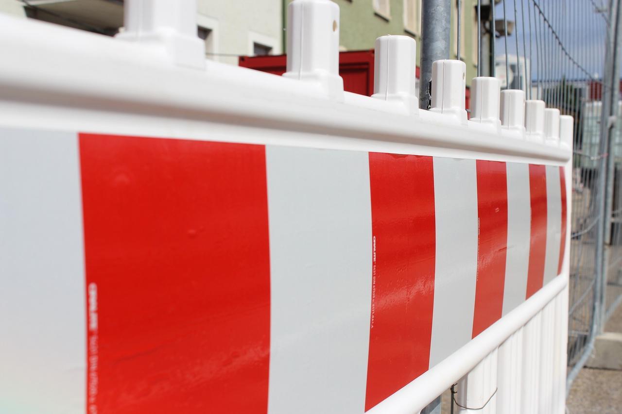 Straßensperrungen Bereich Lutter