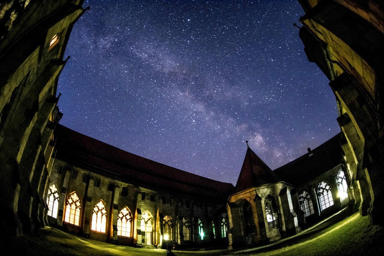 Sterne leuchten über Kloster Walkenried