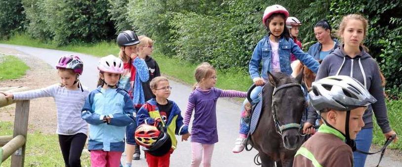 Unterwegs auf Ponys