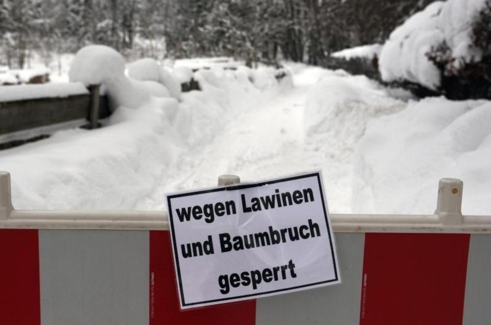 Wetterdienst warnt: extreme Schneefälle