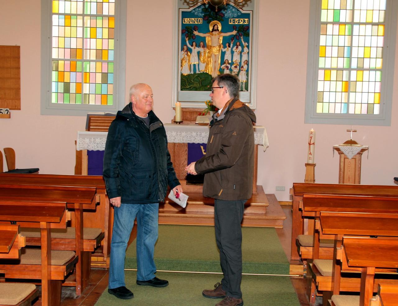 Landesbischof zu Besuch