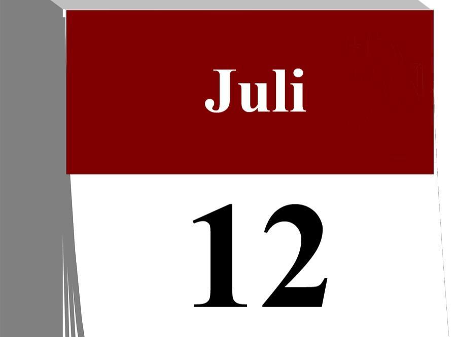 Der 12. Juli...