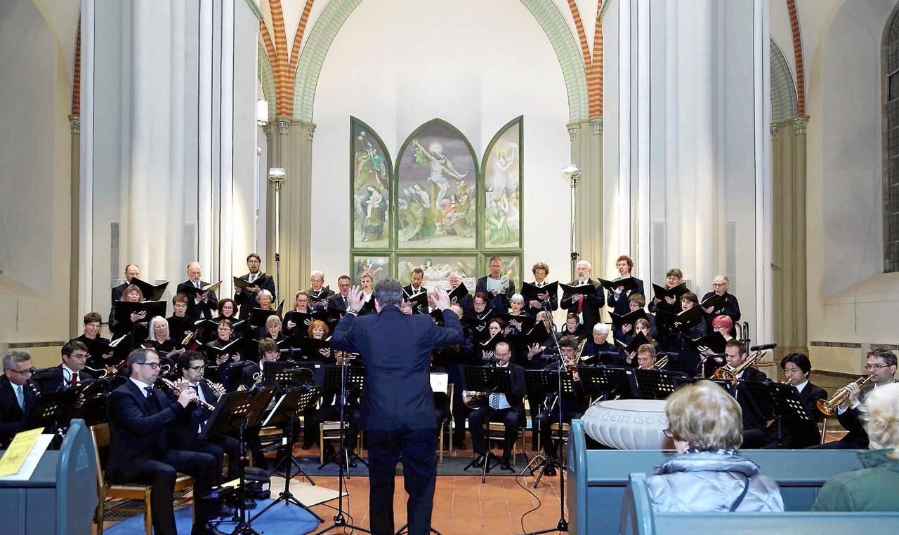 Ökumenische Kantorei sang Bruckner