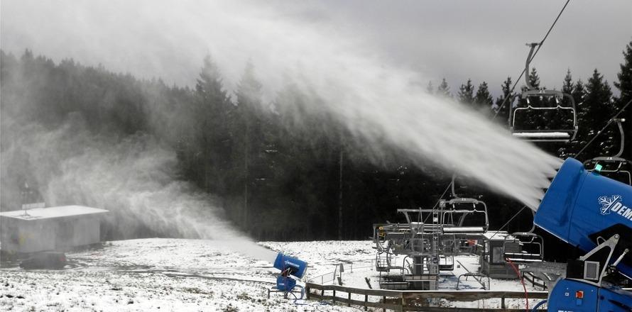 Schneekanonen bald ohne Wasser?