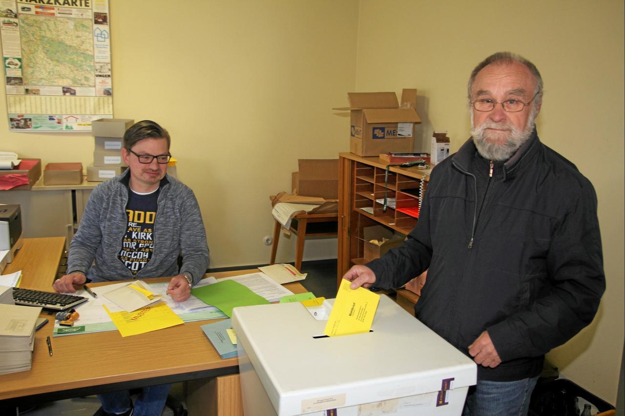 Donnerstag startet die Bürgermeister-Wahl