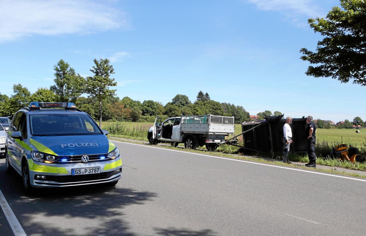 Unfall zwischen Buntenbock und Clausthal
