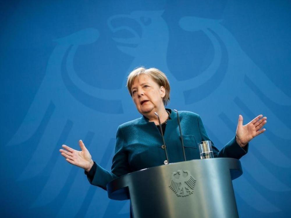 Merkel: Debatte über Lockerung verfrüht