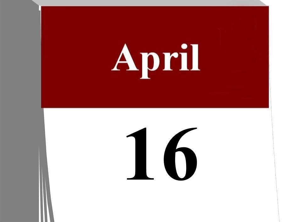 Das kleine Kalenderblatt