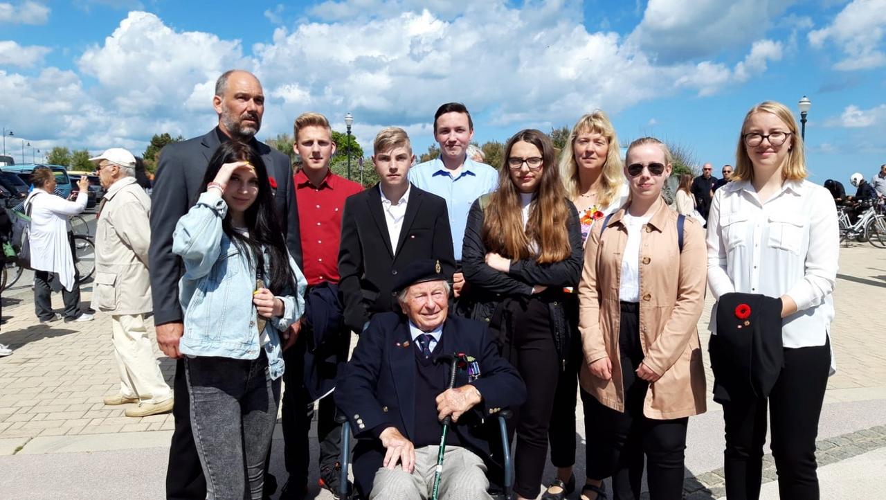 Liebenburger Jugendliche bei D-Day-Gedenken
