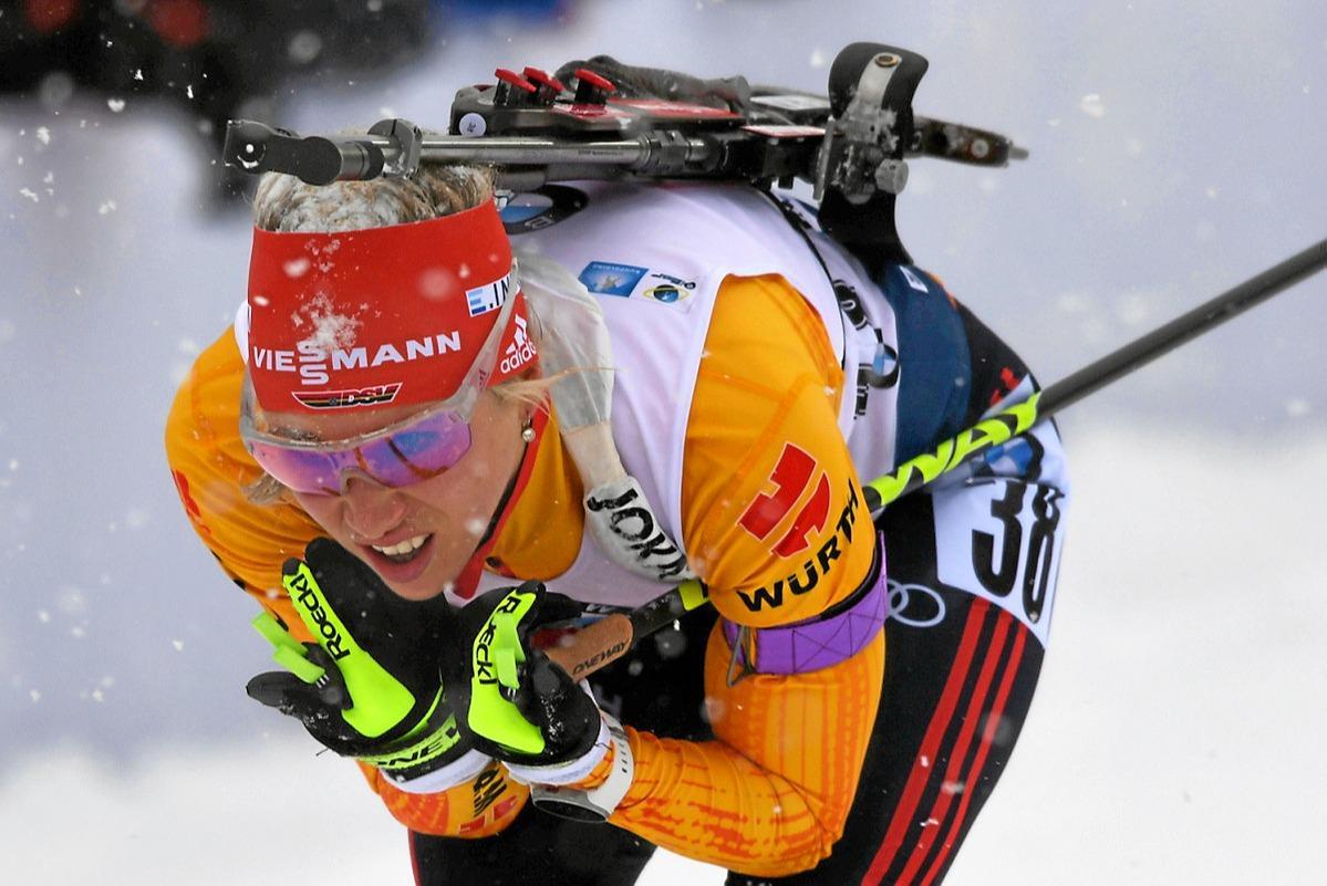 Karolin Horchler im WM-Sprint auf Platz 23