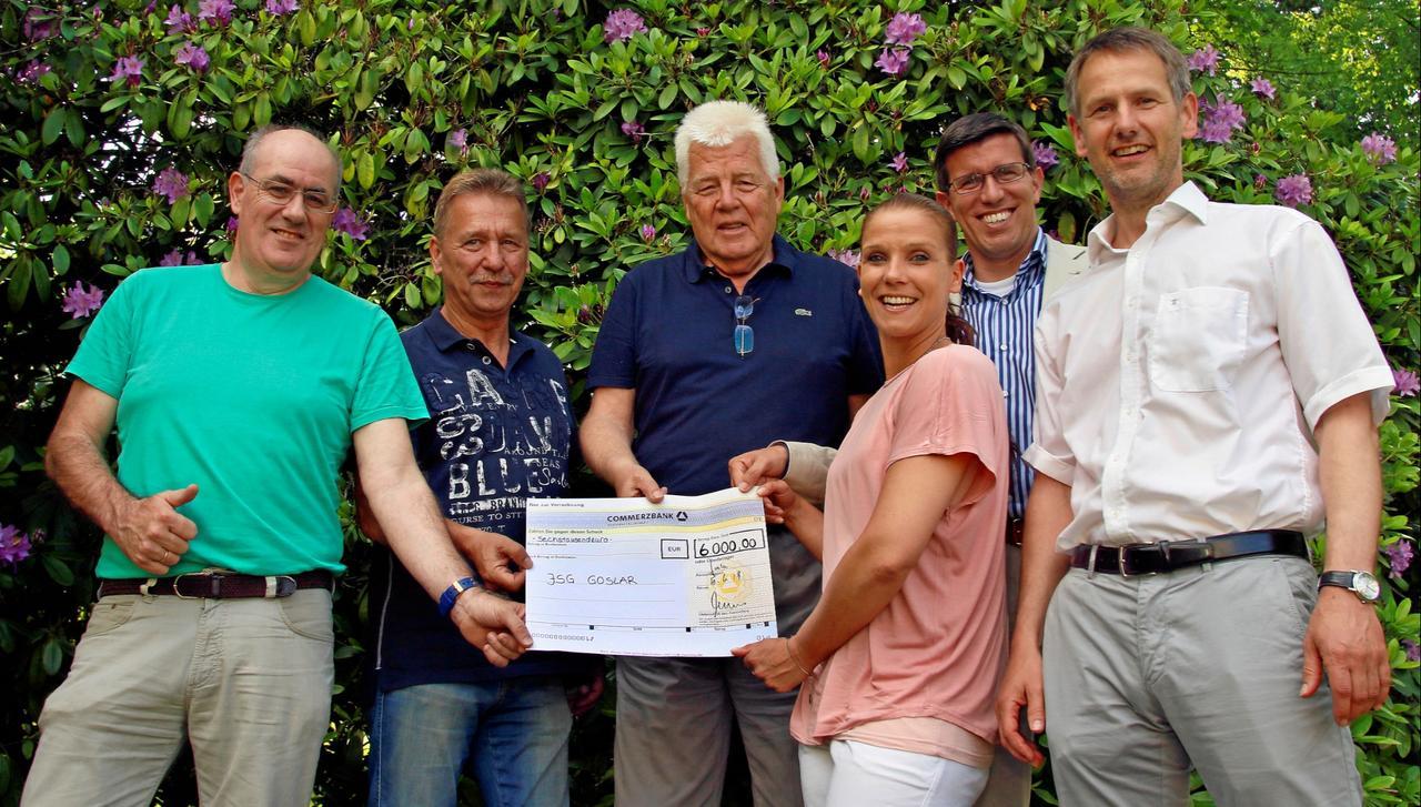 Folkert Bruns unterstützt neue JSG Goslar
