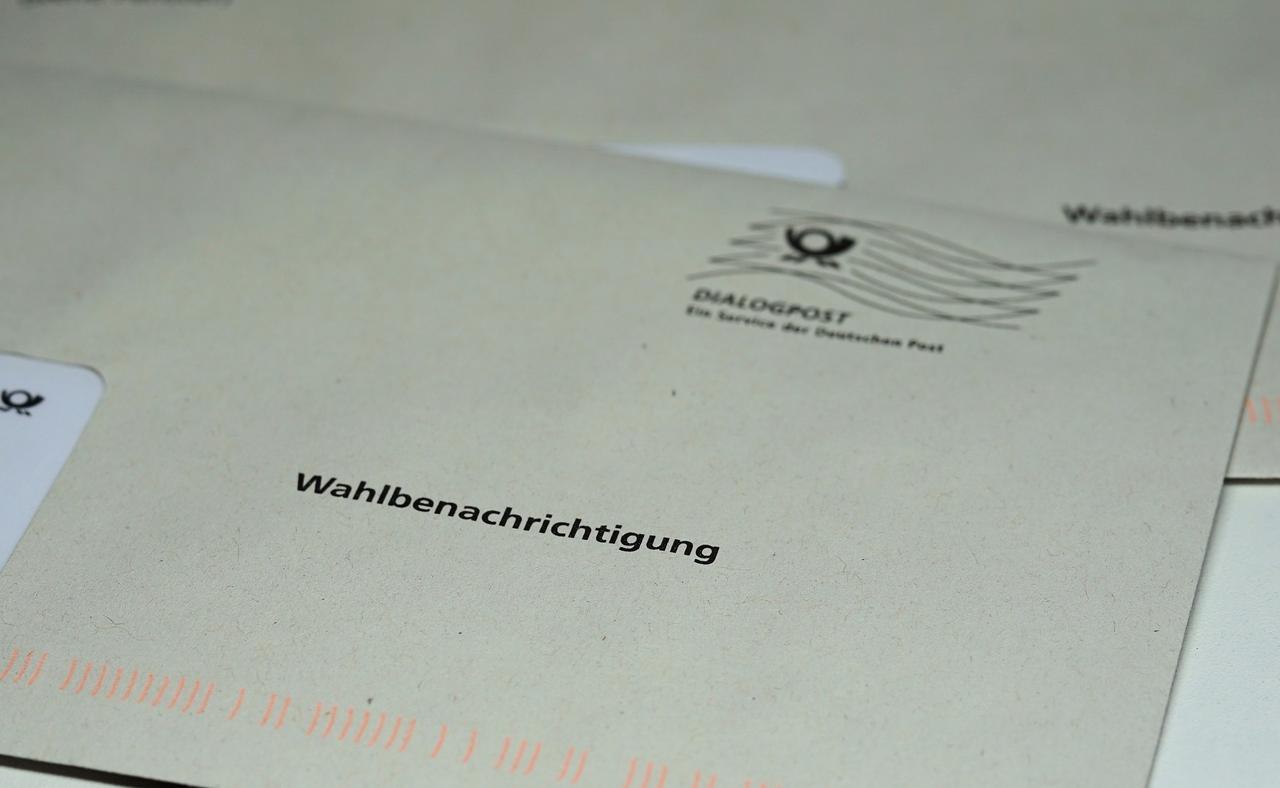 Landtagswahl: Briefwahlunterlagen ab 27. September