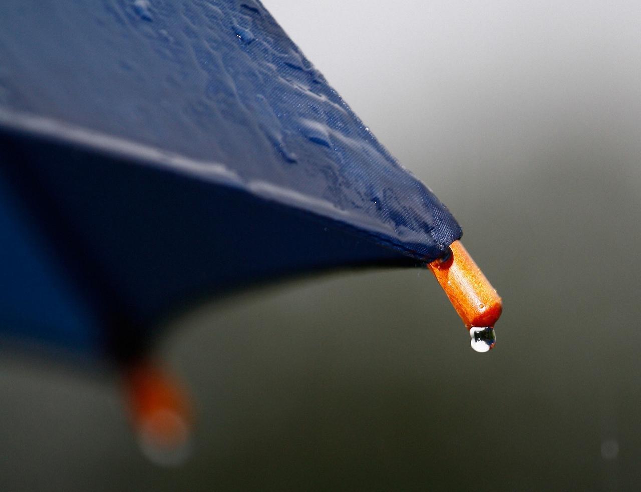 Den Schirm nicht vergessen