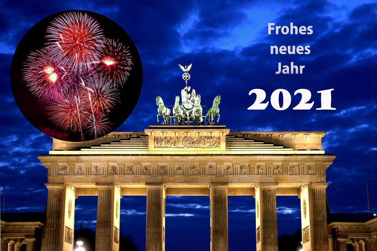 Ein Frohes Neues Jahr 2021