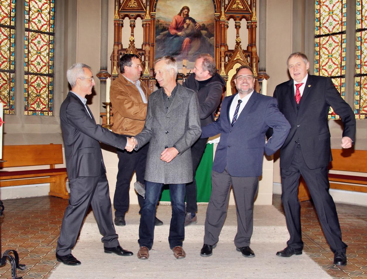 Männer gestalten Gottesdienst