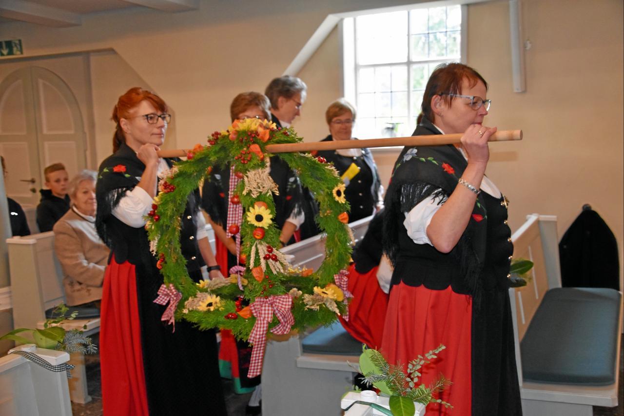 Harzklub feiert Erntedankfest
