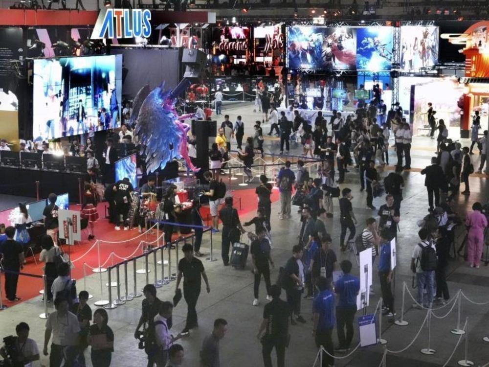 Tokyo Game Show zieht Besuchermassen