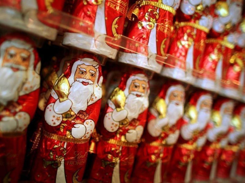 151 Millionen Schoko-Weihnachtsmänner