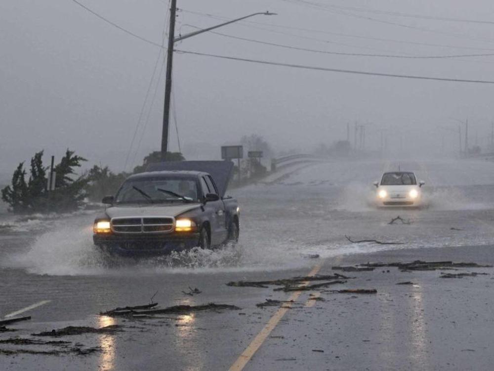 Sturm setzt Südosten der USA unter Wasser