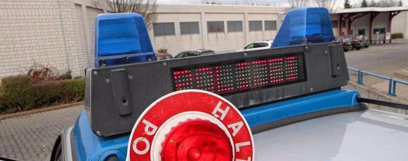 Halsbrecherische Flucht vor der Polizei