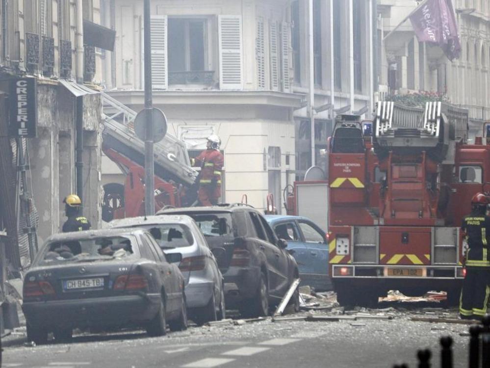 Mehrere Verletzte bei Explosion in Paris