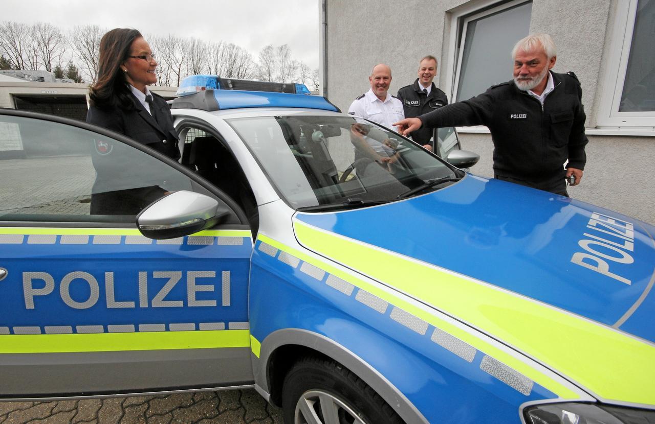 Polizei präsentiert Auto-Cam
