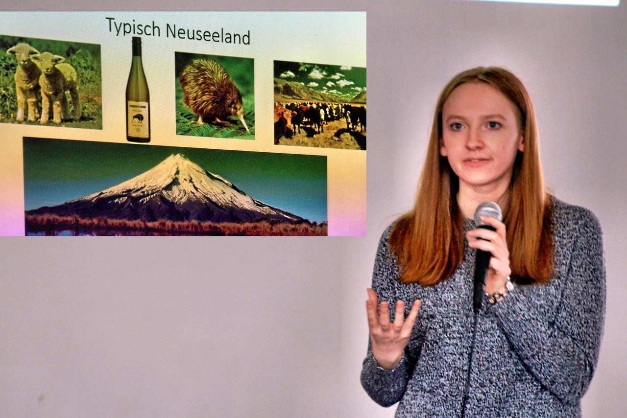 Schülerin erzählt von Jahr Neuseeland
