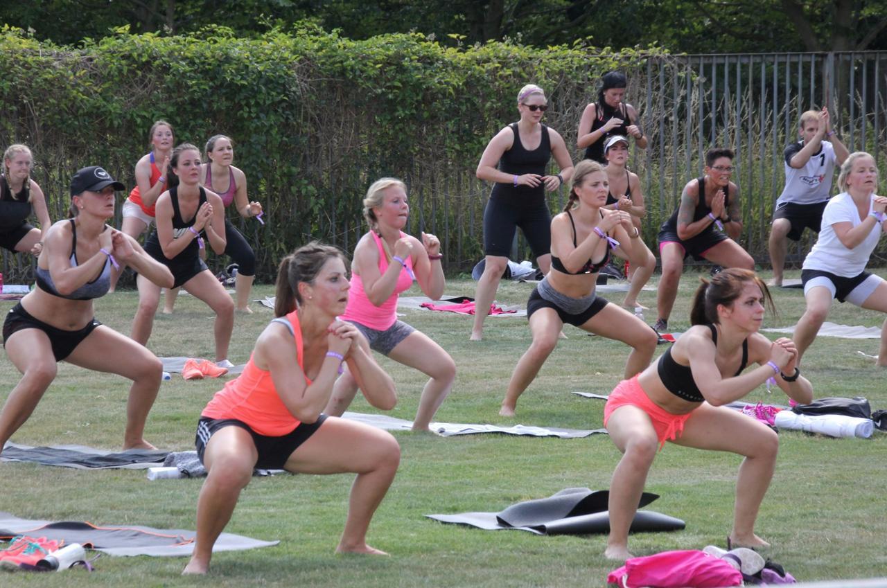Aus fürs Fitness-Festival in alter Form