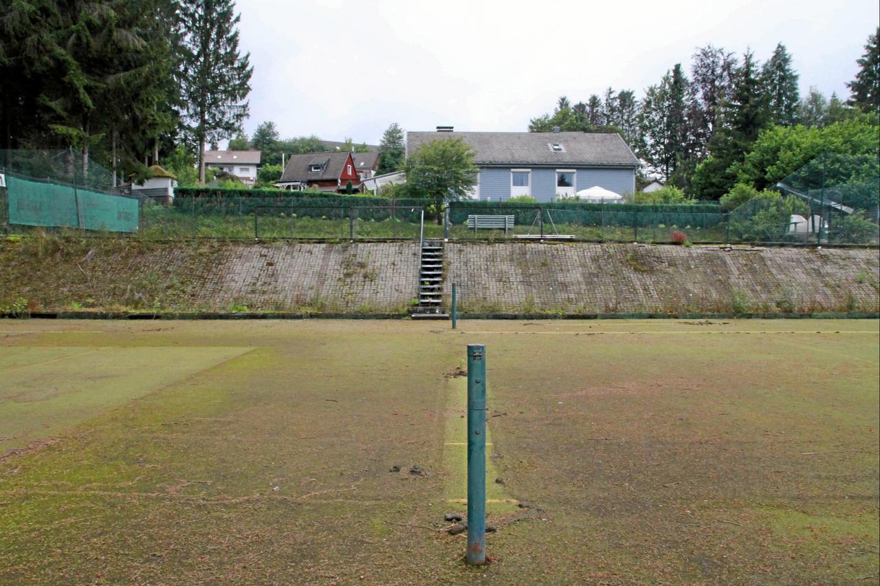 Tennisplätze sollen verkauft werden