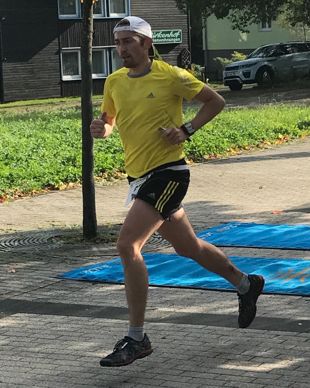 Marathonläufer sind unterwegs