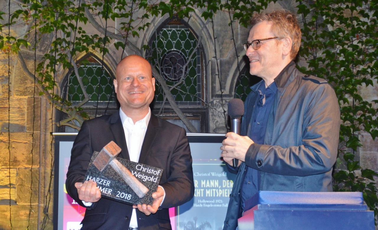 Krimi-Preis für Christof Weigold