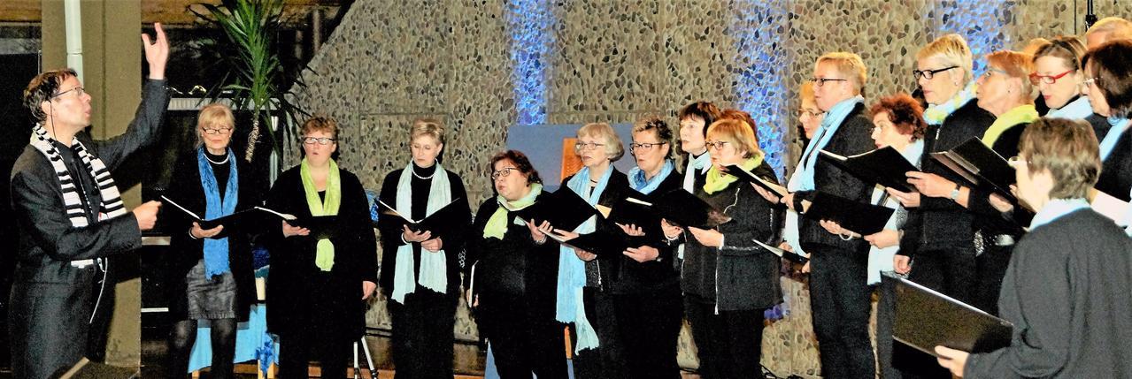 Fünf Chöre singen in St. Georg