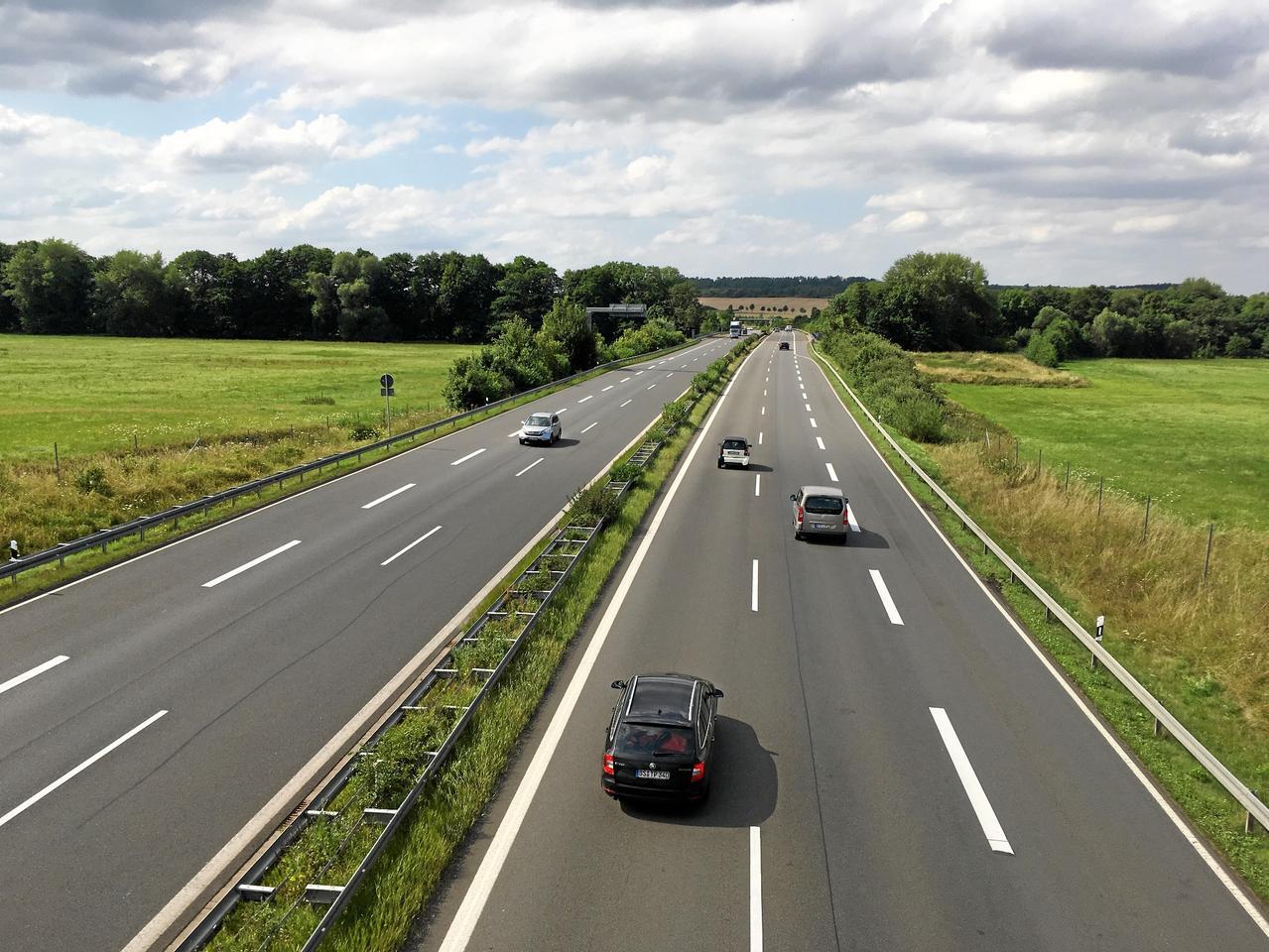 Autobahn bis kurz vor Bad Harzburg