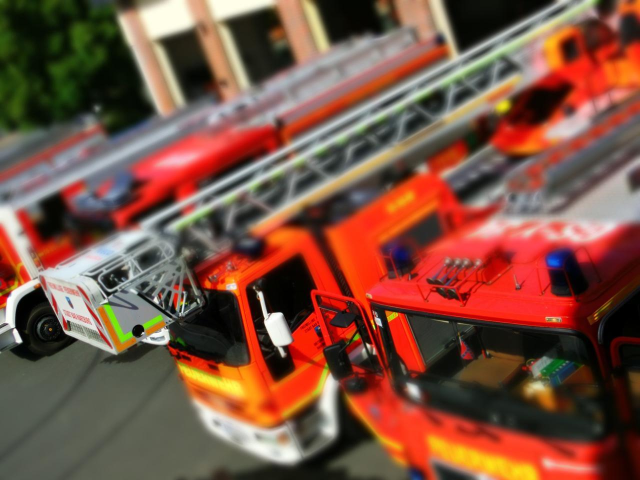 Mehrere Feuerwehreinsätze