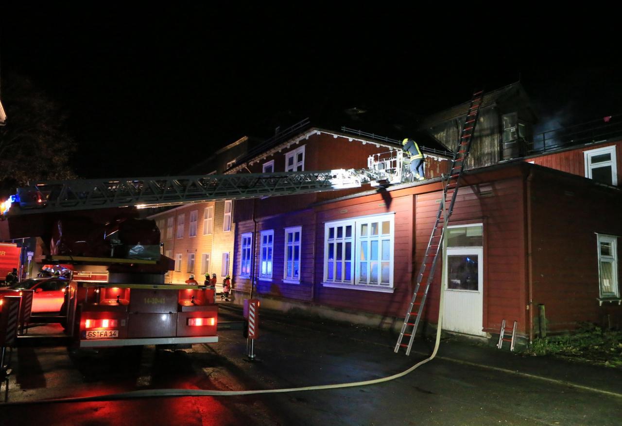 Hausbrand fordert ein Todesopfer