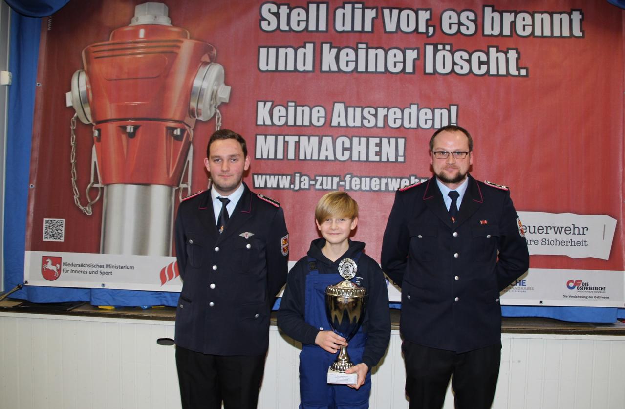 Jonas Bothe neuer stellvertr. Jugendwart